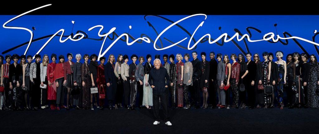 Las sensuales 'garçonne' de Armani reinan en su colección Pre Fall 2020