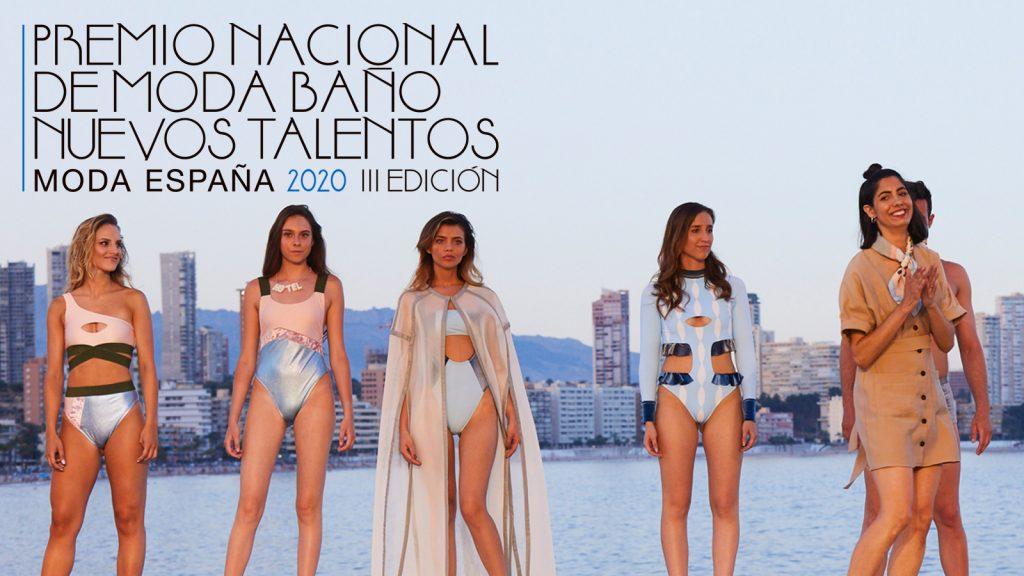 Diez finalistas, elegidos para optar al Premio Nacional de Moda Baño 2020