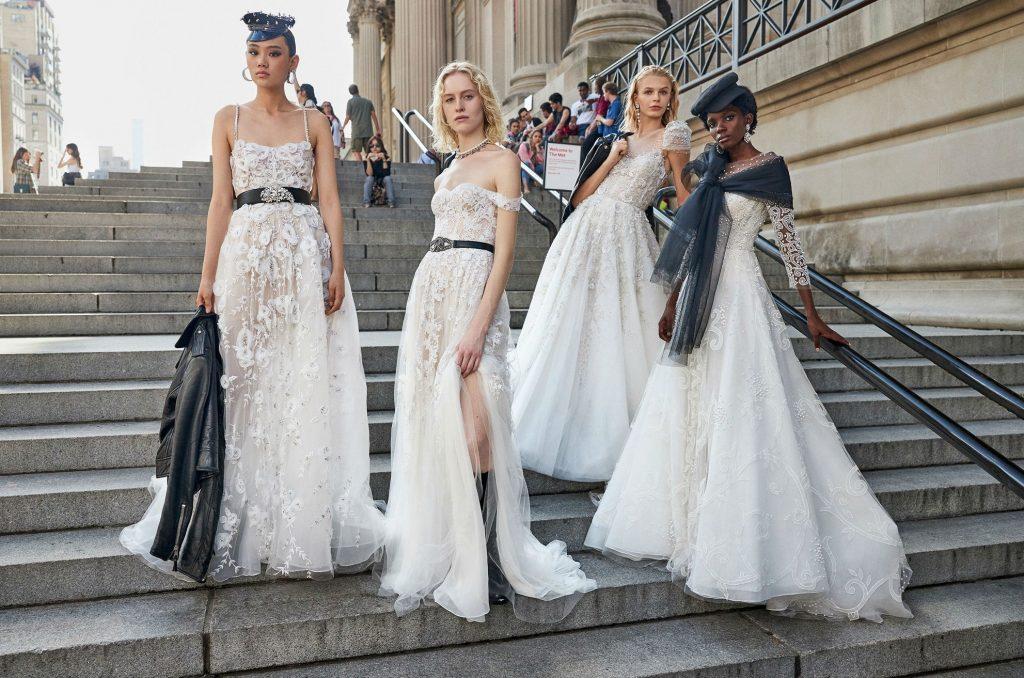 Las novias seducen en la Semana de la Moda Nupcial de Nueva York