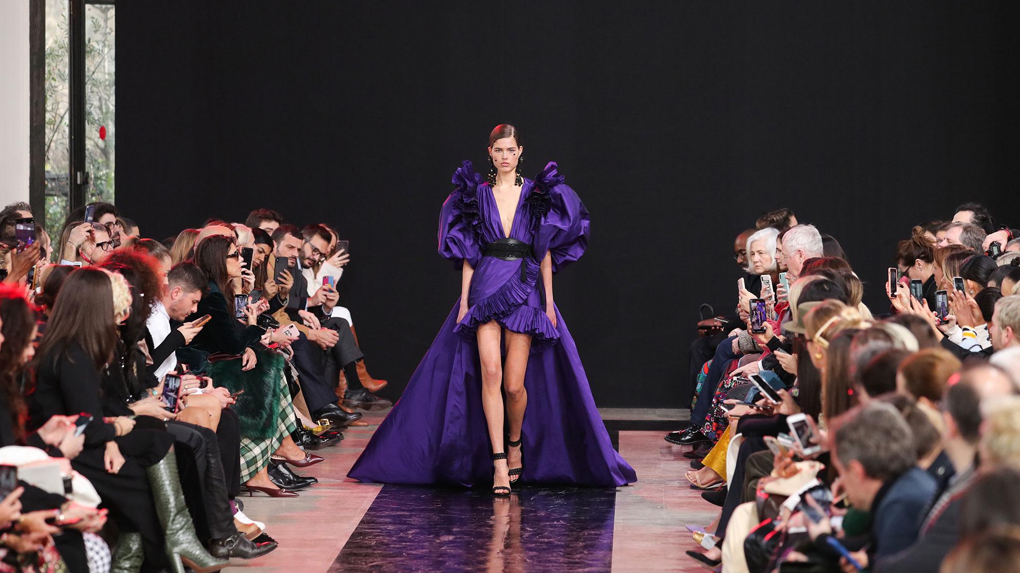 El voluptuoso invierno de la Semana de la Moda de París