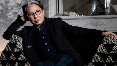 Fallece el diseñador japonés Kenzo a los 81 años por coronavirus