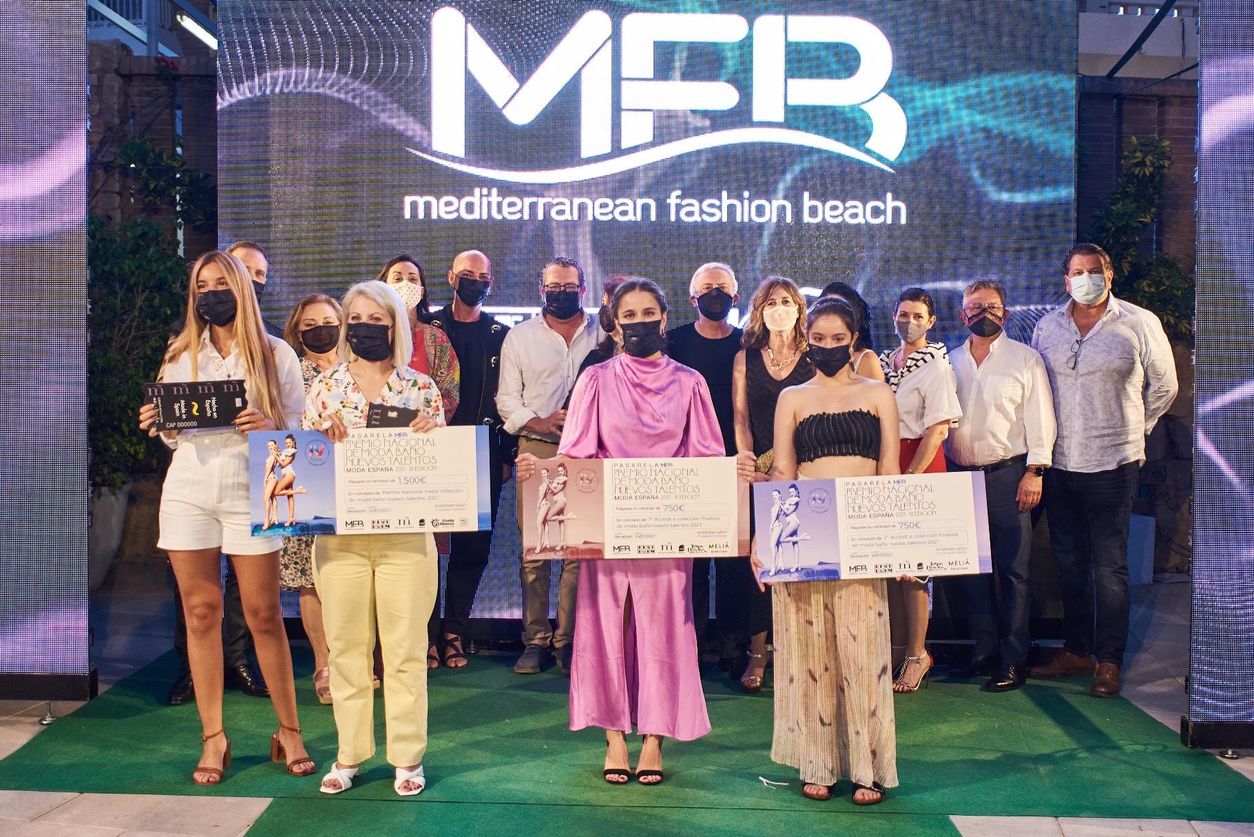Entregados los premios nacionales de Moda Baño a nuevos talentos