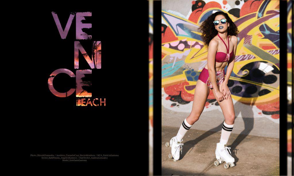 Venice Beach. Por Hiroshi Yamaoka
