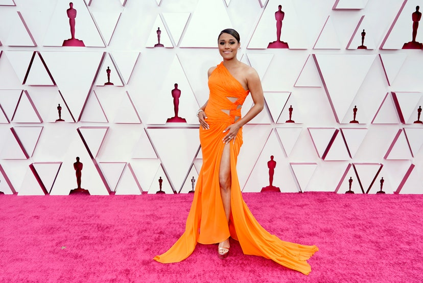 Oda al color en la red carpet de los Oscar