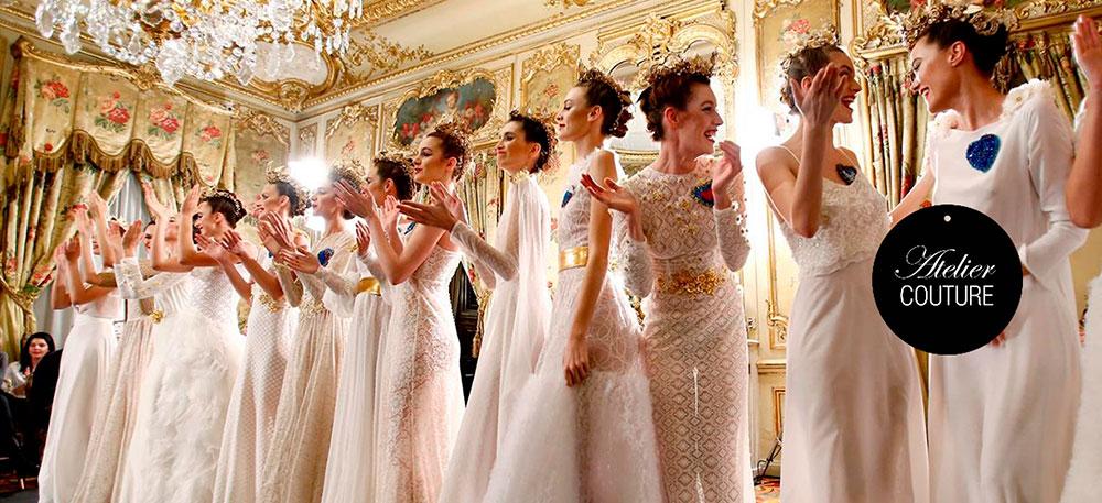 Atelier Couture reanuda los días 14 y 15 de septiembre su pasarela nupcial